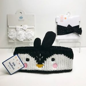 Other - NWT Baby/Toddler Girls Headband Bundle